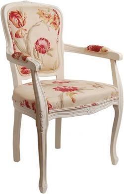 silla luis xv blanca