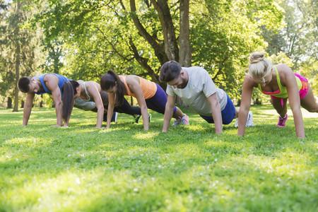 ejercicios al aire libre para perder peso