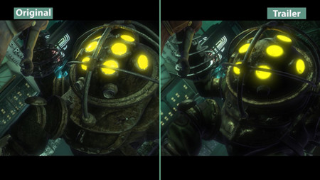 Comparativa de la versión original de PC vs. The Collection Remaster de Bioshock
