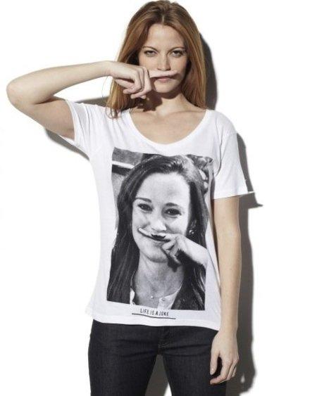 Pippa ya tiene su camiseta en Eleven Paris