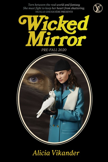Alicia Vikander Wicked Mirror Louis Vuitton