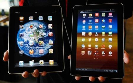 iPad y Galaxy Tab