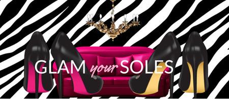 Sigue la suela de los zapatos Rosso Solini de Tara Haughton
