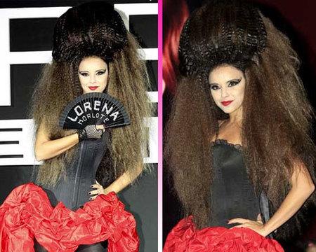 El pelo de Chenoa me da miedo