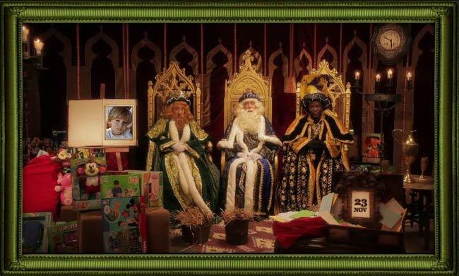 navidades sorprendentes los reyes y papa noel felicitan a tu hijo