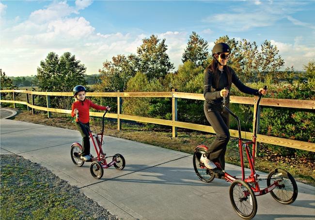 Streetstrider la bicicleta el ptica para la calle - Beneficios de la bici eliptica ...