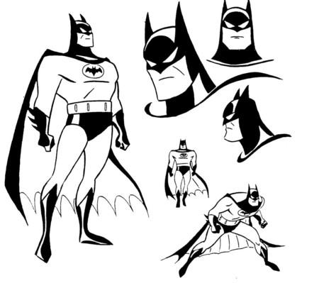 Batman Diseno Bruce Timm