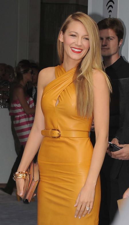 Blake Lively es la estrella de Gucci en Milán