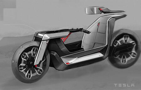 Tesla Moto Electrica Concepto 2