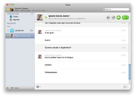 Skype 5 beta, ya disponible para Mac OS X