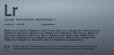 Disponible la primera aplicación de 64 bits de Adobe para Mac: Lightroom 2.0
