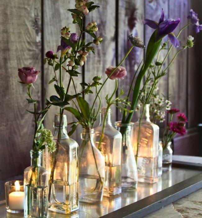 Mensaje en una botella siete ideas diy para reciclar el - Mueble para plantas ...