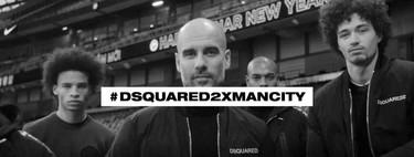 Dsquared2 y el Manchester City juntos en una colección urbana por demás elegante