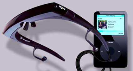 Gafas LCD para iPod Vídeo