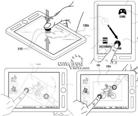 Samsung busca rizar el rizo con una pantalla táctil doble