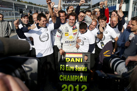 Dani Juncadella reclamado por Mercedes-Benz para los test del Circuit de la Comunitat Valenciana