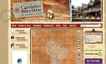 Comunidad de viajeros Caminos Secretos de América Latina