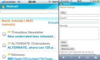 Hotmail ahora es compatible con el iPhone e iPod touch