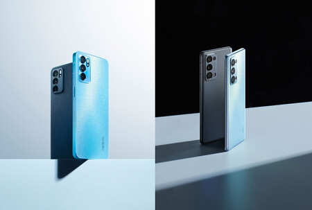 OPPO Reno6 5G y OPPO Reno6 Pro 5G: un derroche de brillo por todos los lados abanderado por el OLED a 90 Hz