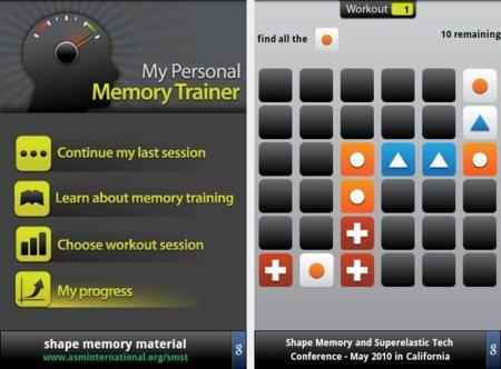 Entrenar la memoria en Android