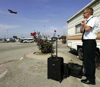 Comunidad de pilotos viviendo en un aeropuerto