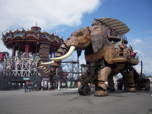 Los cinco lugares más curiosos de Nantes que merece la pena visitar
