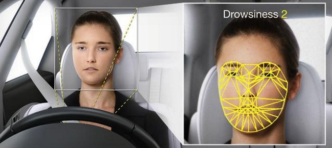 Denso Reconocimiento facial en coches
