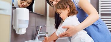 La AEP recomienda que los niños menores de tres años se laven las manos a menudo: reducirán un 30 por ciento sus infecciones respiratorios