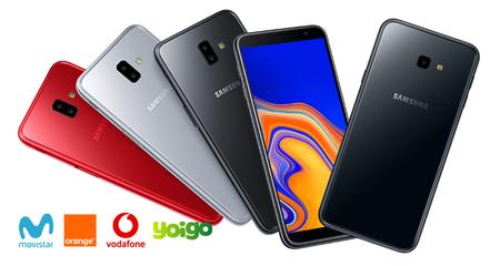 Samsung Galaxy J6+ y Galaxy J4+ llegan al catálogo de Movistar, Vodafone, Orange y Yoigo:  precios a plazos