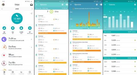 Fitbit Charge 4 Analisis Experiencia Uso Desempeno Monitoreo Actividad Fisica App Fitbit