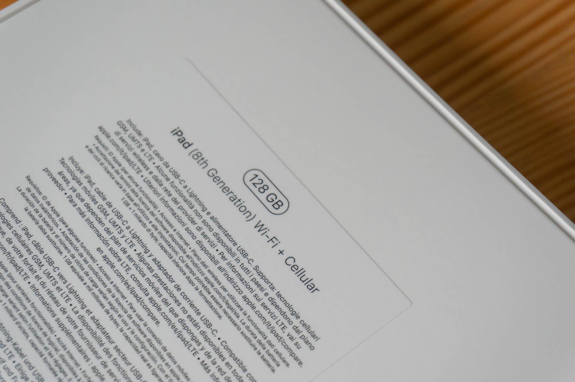 Foto de iPad 8a Generación 2020 (1/23)