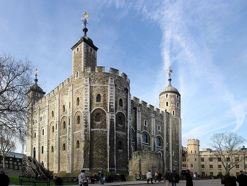 Todos estos edificios blancos que hay en Londres están hechos de un material procedente de la época de los...
