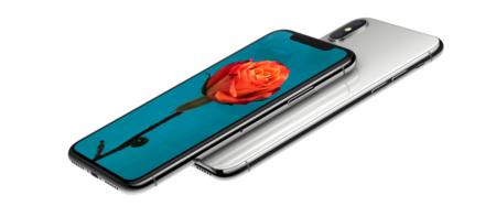 El nuevo iPhone X con trasera de cristal