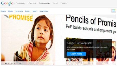 Google ofrece guías con ejemplos de uso para sacar el máximo partido a sus páginas de Google+