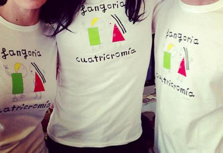 davidelfin diseña la camiseta oficial de la nueva gira Cuatricromía de Fangoria