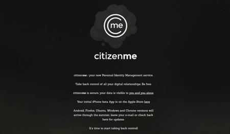 CitizenMe, una aplicación para tomar el control de tus redes sociales