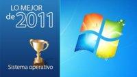 Mejor sistema operativo de 2011: Windows 7