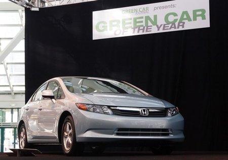 El Honda Civic Gas Natural gana el premio al Coche Verde del Año