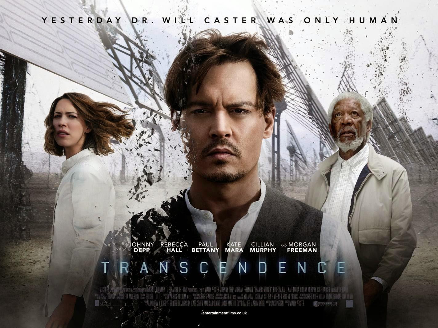 'Transcendence', carteles