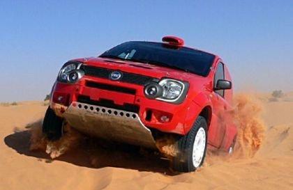 El Fiat Panda Cross participará en el Dakar 2007
