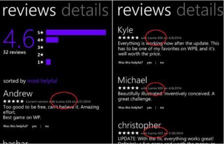 Windows Phone 8.1 Store se renueva y ofrece más información