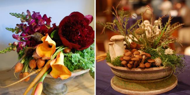 Centro mesa hortalizas - 3
