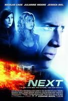 Póster de 'Next', con Nicolas Cage y Julianne Moore