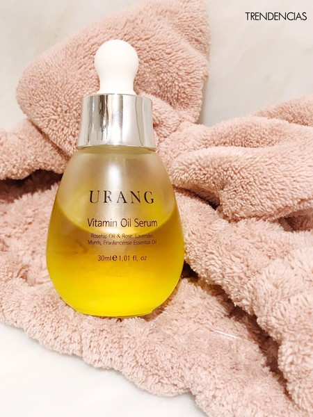 Sumamos a nuestra rutina nocturna el aceite coreano Vitamin Oil Serum de Urang
