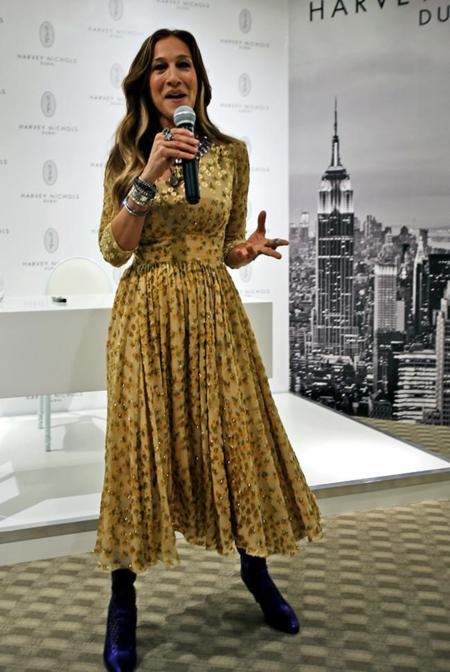 Sarah Jessica Parker ¡divina! en Dubai