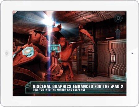 iPad 2 gráficos videojuegos Dead Space HD