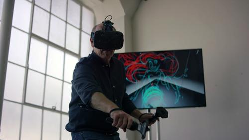 El animador de Disney Glen Keane nos dibuja a la sirenita en Realidad Virtual