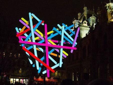 La Fête des Lumières, Ágatha Ruiz de la Prada ilumina Lyon