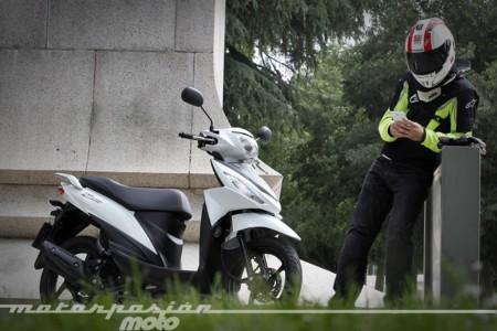Suzuki Address, prueba (conducción en ciudad y carretera)