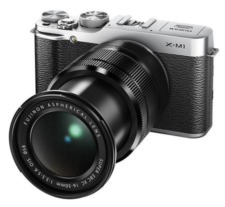 Fujifilm X-M1 black zoom